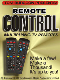REMOTE CONTROL Multiplying TV Remotes