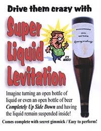 Super Liquid Levitation