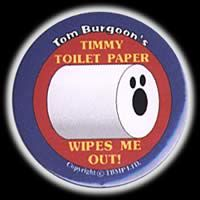 Timmy Roilet Paper Fridge Magnet