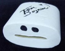 Timmy Toilet Paper Signed Roll